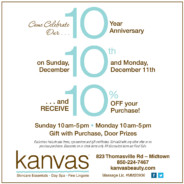 Come Celebrate Our 10 Year Anniversary